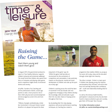 Time and Leisure January Edition width=